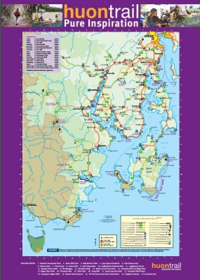 huon trail map