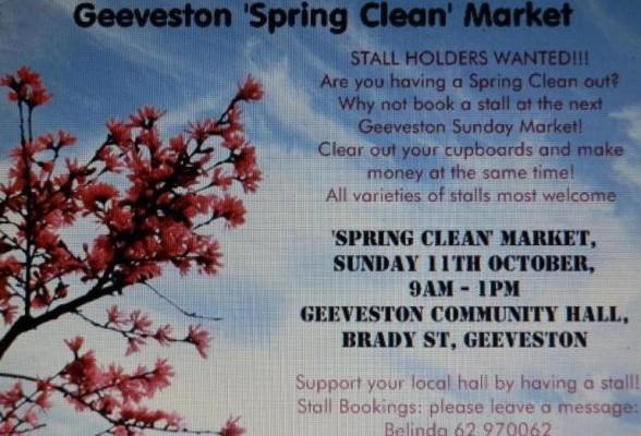 Geeveston Spring Clean Market