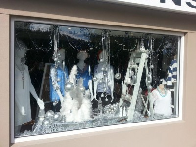 Last years winning window