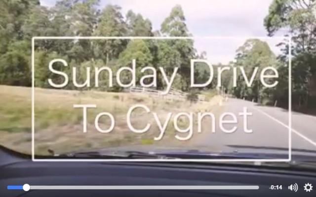 Cygnet - Huon Valley Sunday Drives