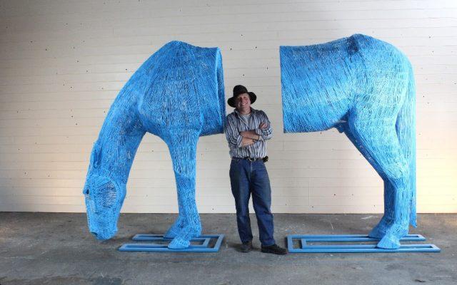 Nick Adams Sculpture