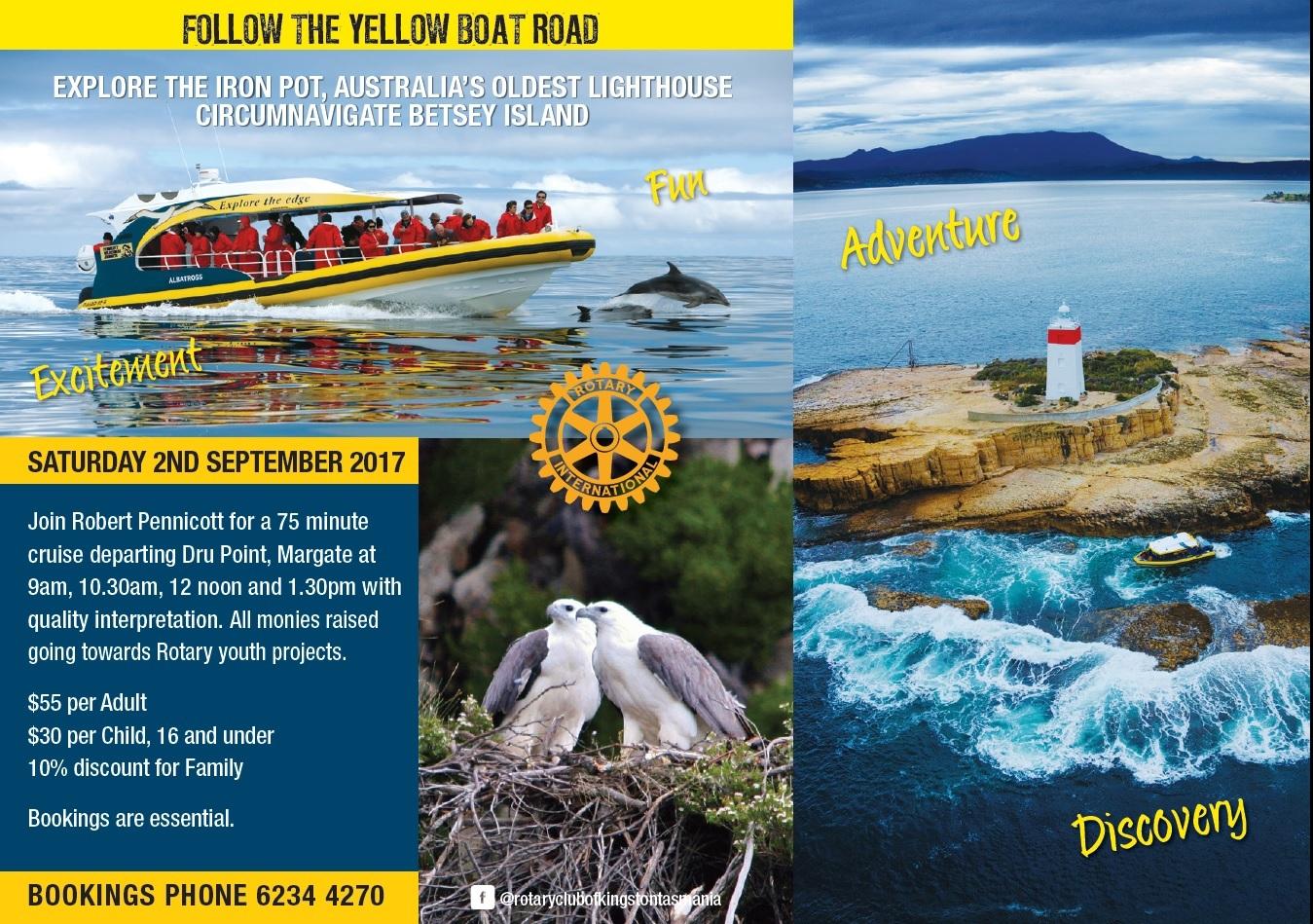 Iron pot adventure cruise huon valley council huon valley council for Kingston swimming pool tasmania