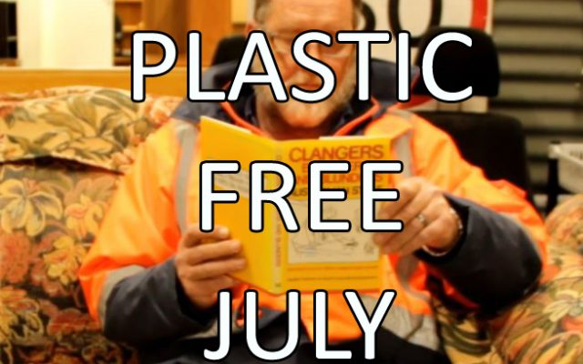 A short message on Plastic FREE July.