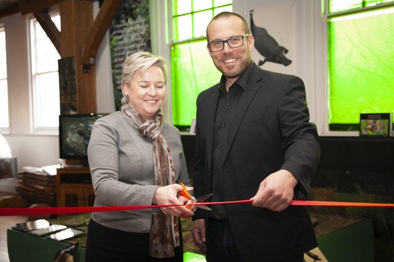Huon Platypus launch mayor enders and david shering of handbuilt creative