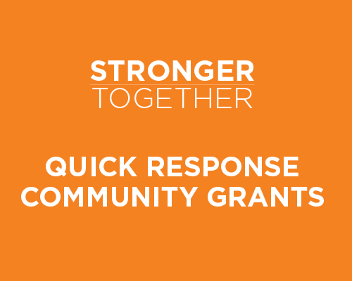 Quick Response Community Grants